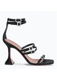 Black Robyn high sandals