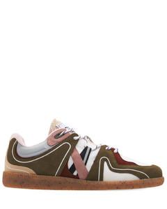 10mm Mesh & Suede Sneakers