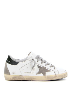 Superstar suede and leather sneakers