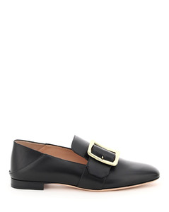 JANELLE LEATHER LOAFERS