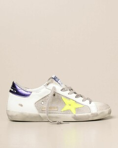 Superstar sneakers in mesh and suede