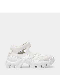 Boccaccio Ii Ibiza Sneakers in White Synthetic Leather