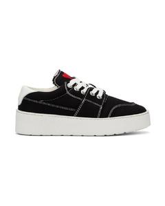 黑色Ami De Coeur运动鞋