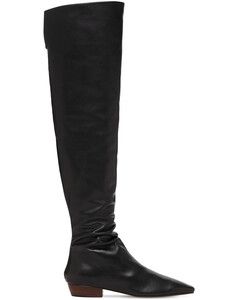 20mm Slouchy Leather Over-the-knee Boots
