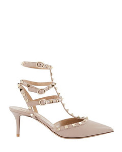 Garavani Rockstud pumps with cage effect straps