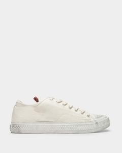 Lauren white leather sneakers