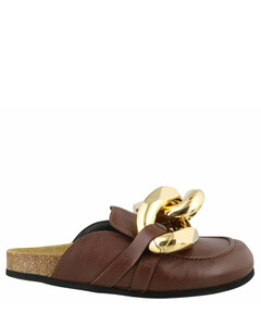 Chain Loafer Mules