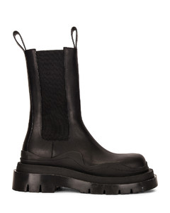 The Tire Boots in Black