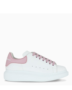 Women's white/pink Oversize sneakers
