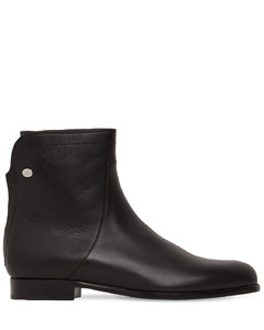20mm Welly Leather Ankle Boots