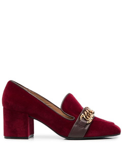 blue Martini 105 Mary Jane leather pumps