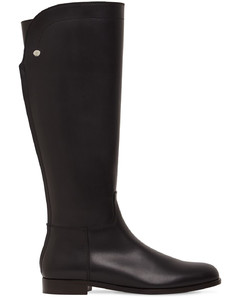 20mm Welly Leather Tall Boots