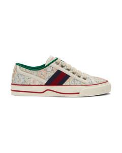 多色Liberty London联名Gucci Tennis 1977运动鞋