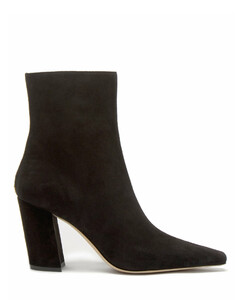 Zadie 85 point-toe suede ankle boots