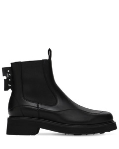 40mm Leather Chelsea Boots