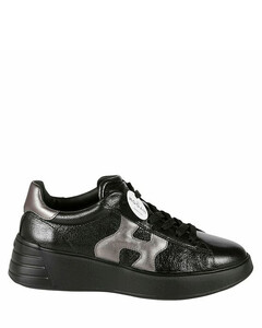 Kourt K Logo leather sneakers