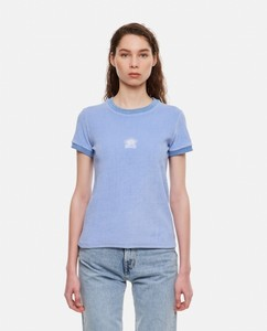 Sock-style logo ankle boots
