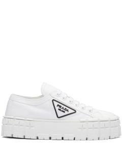 nylon gabardine sneakers