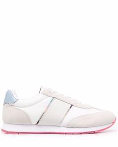 Plume Calf Leather Retro Sneaker