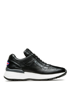 Plume Calf Leather Retro Sneaker