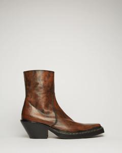 西部风皮靴
