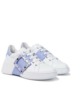 Viv Skate Strass皮革运动鞋
