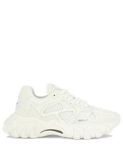 20mm Curb Suede & Mesh Low Top Sneakers