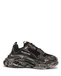 Triple S Sneakers in Black