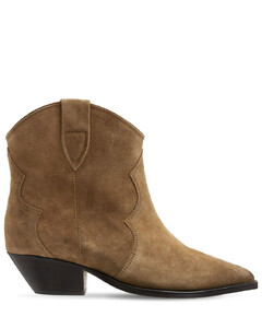 40mm Dewina Suede Ankle Boots