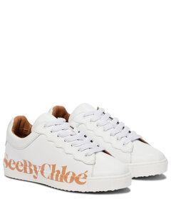 Essie皮革运动鞋