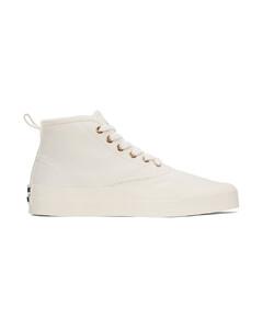 Logo Platform Sneakers in Black