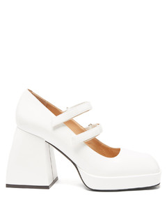 Bulla Babies patent-leather Mary Jane pumps