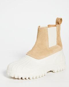 Balbi沟纹鞋底切尔西靴