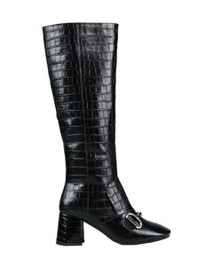 Beige and white classic suede sneakers