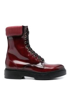 黑色趾帽切尔西靴