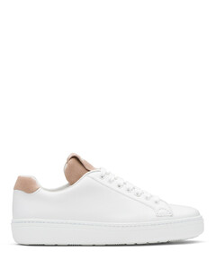 Calf Leather and Suede Classic Sneaker