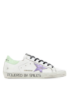 Multicolor leather Super Star sneakers
