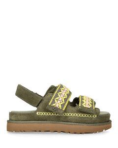 精致缝线靴子