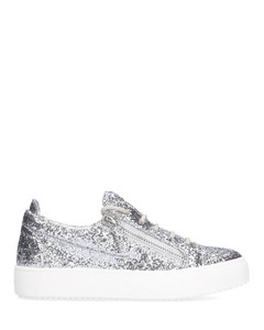 Low-Top Sneakers FRANKIE glitter