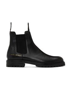 黑色Winter切尔西靴