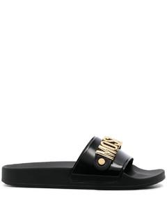黑色Hiking踝靴