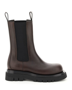 BV LUG CHELSEA LEATHER BOOTS