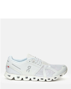 Women's Cloud Running Trainers - All White