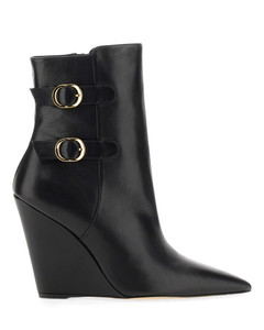 Pike lace-up leather ankle boots