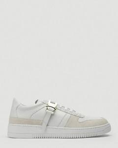 Buckled Low-Top Sneakers