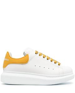 厚底皮质板鞋