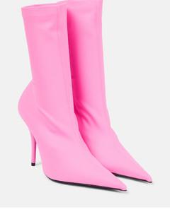 Caela brown shearling slippers