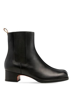 Women's Jane Leather Ankle Boots - Black