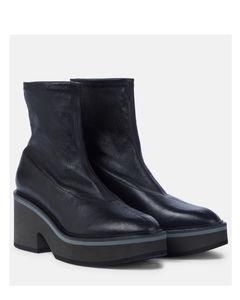 Albane皮革袜靴