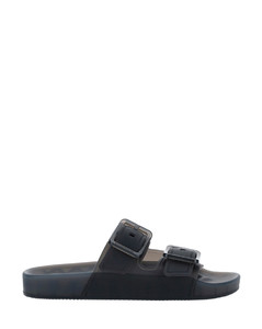 Polyester Knit Sneakers In Blush Pink & White